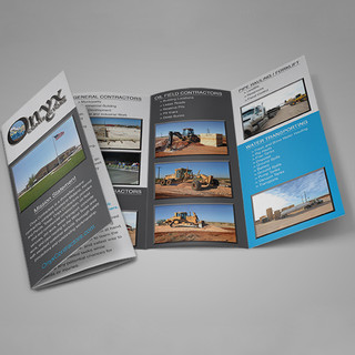 Onyx Contractors / Print
