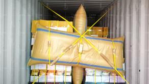 สินค้านวัตกรรมถุงลมกันกระแทก AQ Bag ชนิดหน้าเรียบ ไม่ทำลายกล่องสินค้า