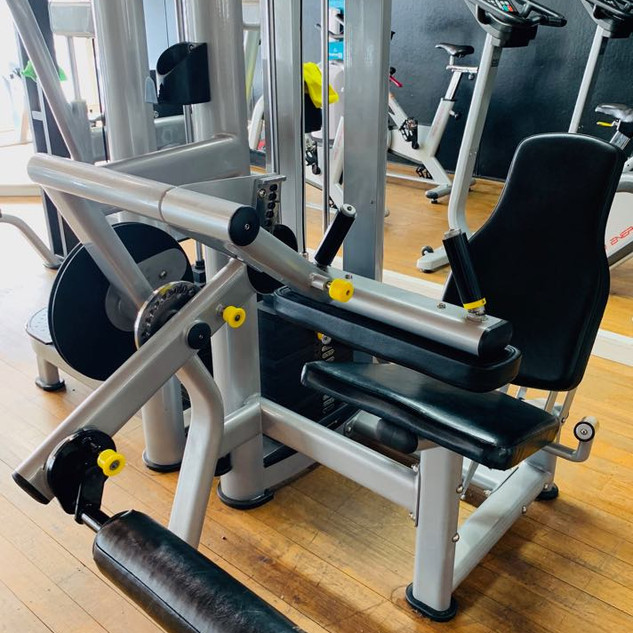 Leg Curl & Leg Extension Machine