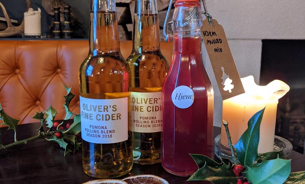Mulled Cider Mix + Oliver's Fine Cider