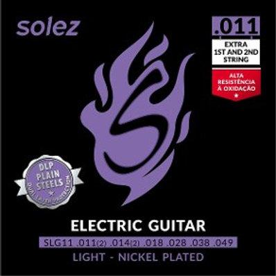 Encordoamento Solez para guitarra 011