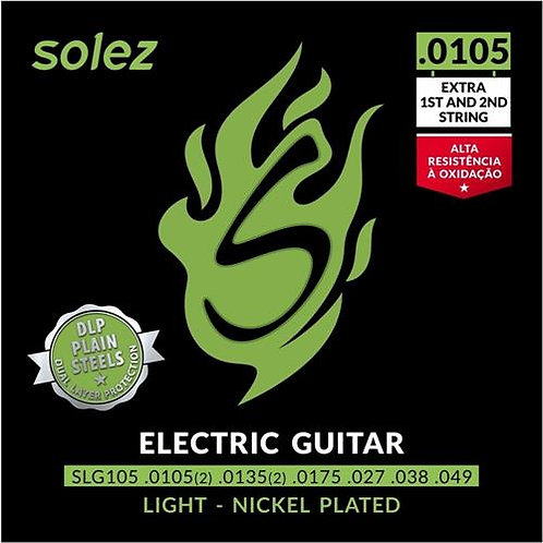 Encordoamento Solez para guitarra 0105