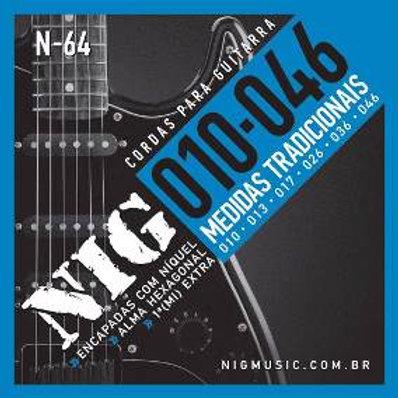 Encordoamento NIG para Guitarra 010