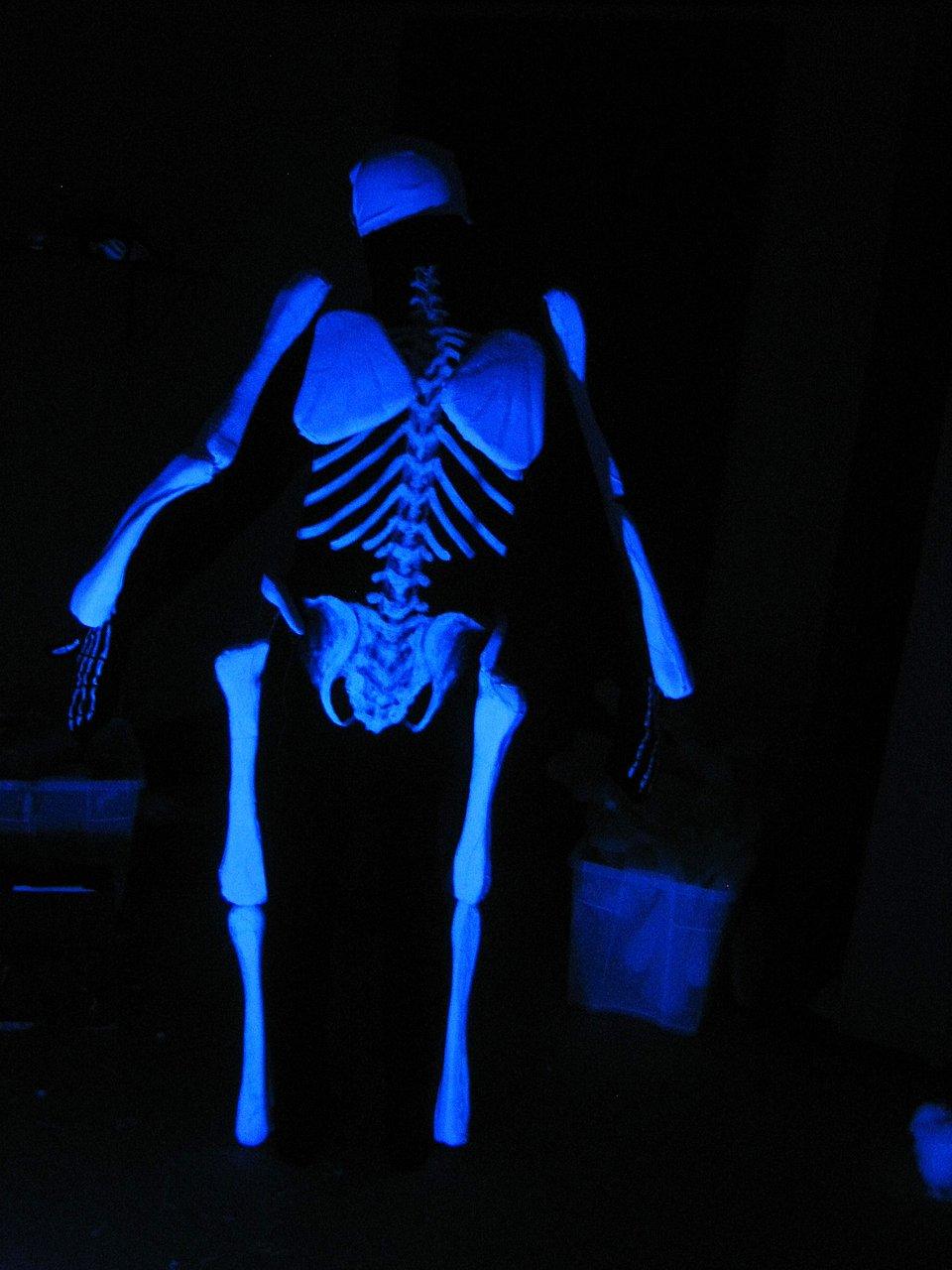 UV Skeleton Costume