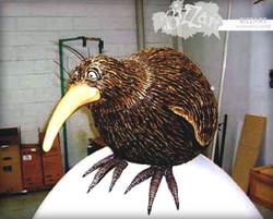 Kiwi on Egg