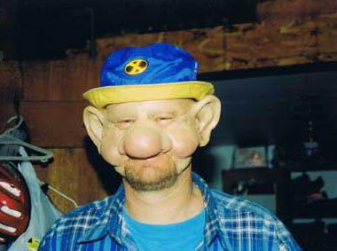 'Drunk Guy' Latex Mask