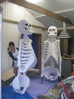 UV Skeleton Puppet