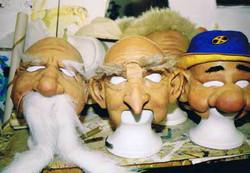 Character Latex Masks
