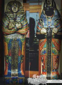 Egyptian Outdoor Sculpture