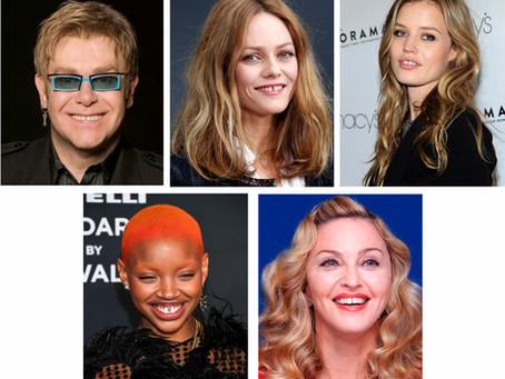 O sorriso nem sempre perfeito dos famosos