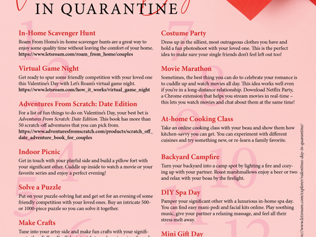Celebrating Valentine's Day in Quarantine