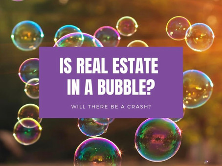 Are we in a bubble? Will there be a crash?