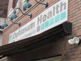 Optimum Health Therapeutic Massage – A dynamic, new identity that speaks VOLUMES!