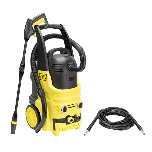 Realm BY02-2IN1 2000 PSI 1.6 GPM Electric Pressure Washer and Vacuum Cleaner