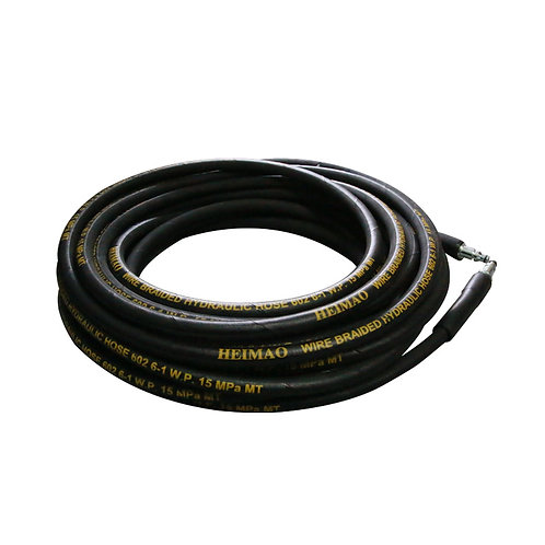 Realm 4000 PSI Wire Braided Hydraulic High Pressure Washer Hose 50ft