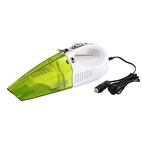 Realm 2-in-1 Wet/Dry Handheld Vacuum Cleaner and LED Lighter with Suction Nozzle