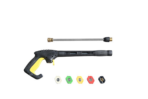 Realm Pressure Washer Gun,3000 PSI with 5 colors Pressure Washer Nozzles