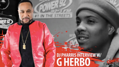 "G Herbo Talks With DJ Pharris About Debut Album ""Humble Beast"""