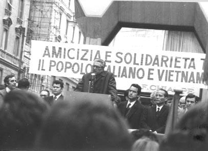 1973 MANIFESTAZIONE LOMBARDI E AGOSTI
