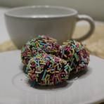 Fika with chocolate balls