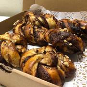 Chocolate & hazelnut buns