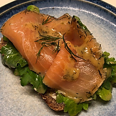 GRAVAD LAX (dill cured salmon)