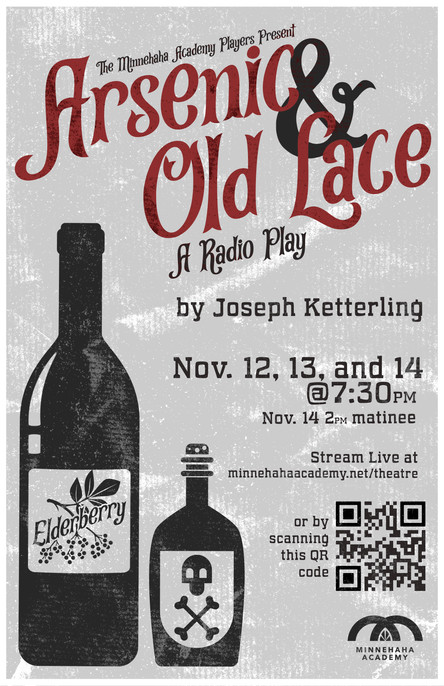 Arsenic and Old Lace Radio Play Poster