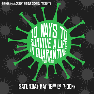 10 Ways to Survive a Life in Quarantine Promo Art