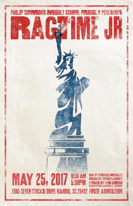 Ragtime Jr Poster