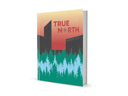 True North  Minnehaha Academy 2020 Antler Yearbook Design