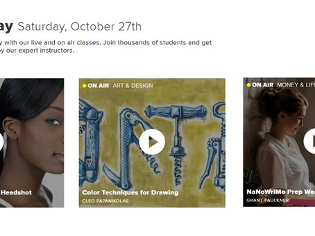 Get Creative with Free CreativeLive Classes