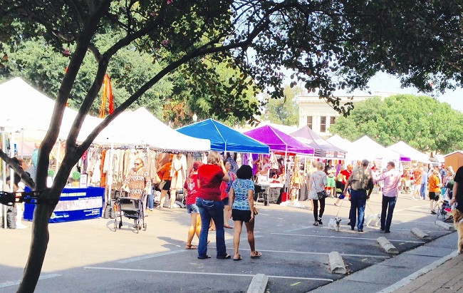 Market days at Georgetown Square