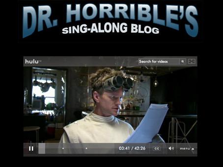 Dr. Horrible's Sing-along Blog Sequel Update