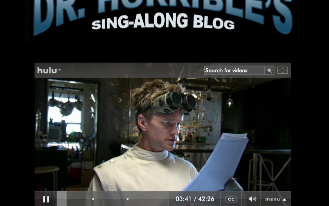 Dr. Horrible's Sing-along Blog Sequel Update
