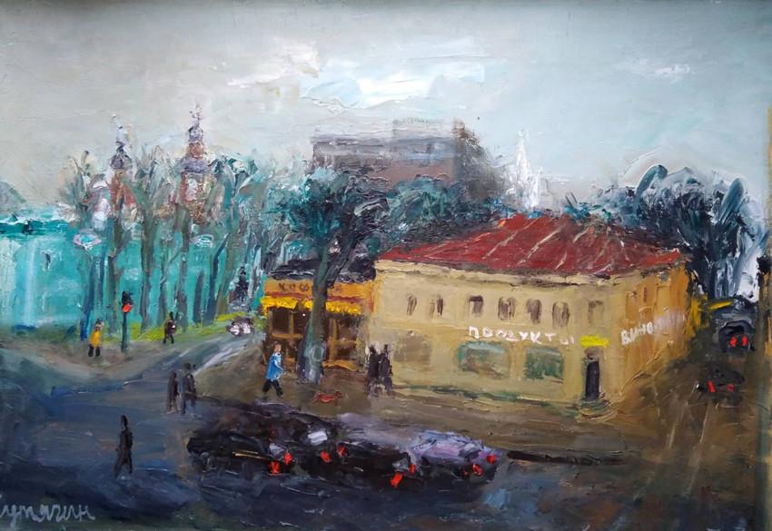 Московский пейзаж, Сутягин Константин, арткультиватор, artcultivator, галерея Палимпсест