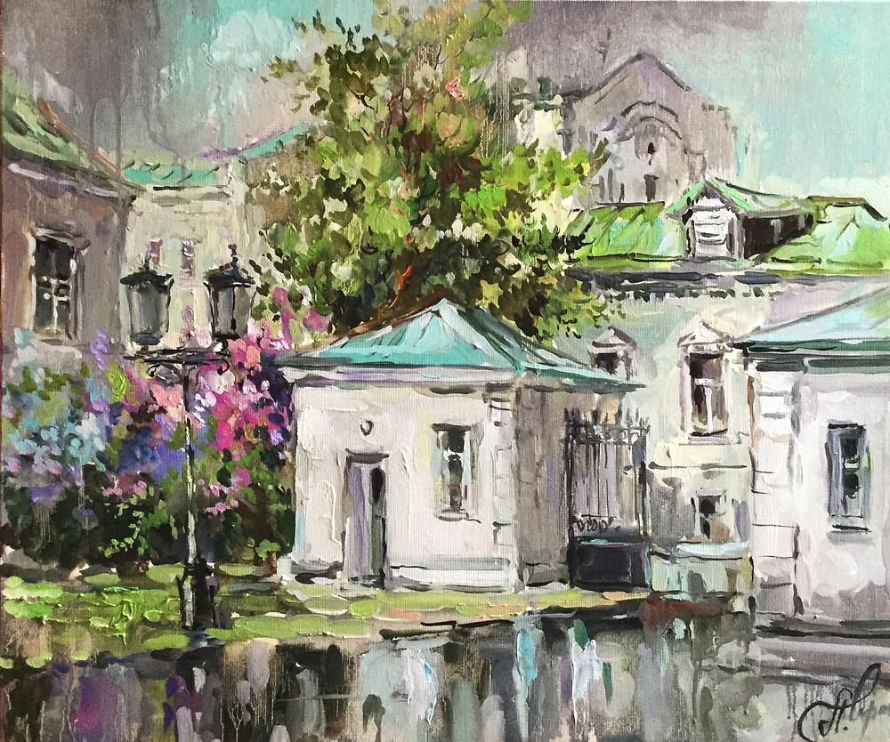 Чарина, арткультиватор, выставка живописи, Анна Чарина, artcultivaor