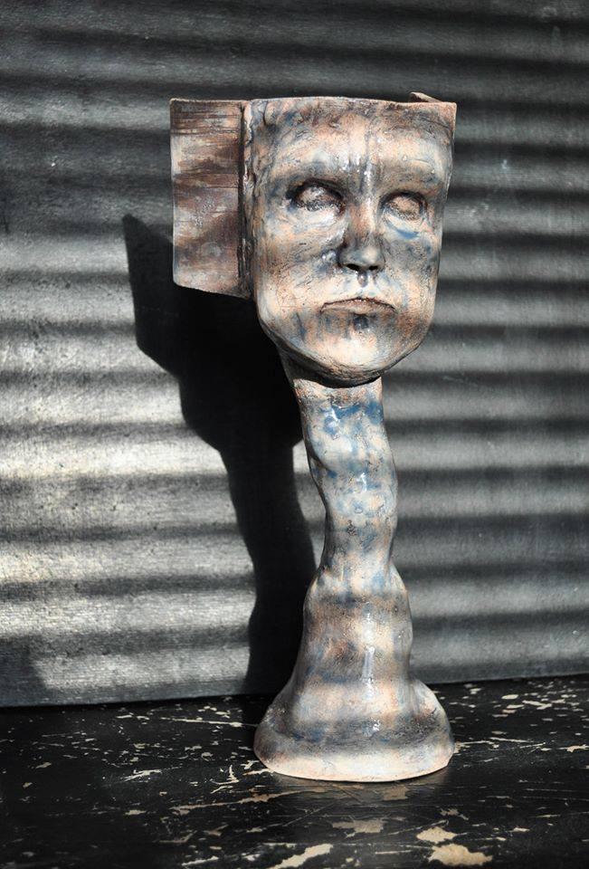 скульптура, женская голова, античность, artcultivator