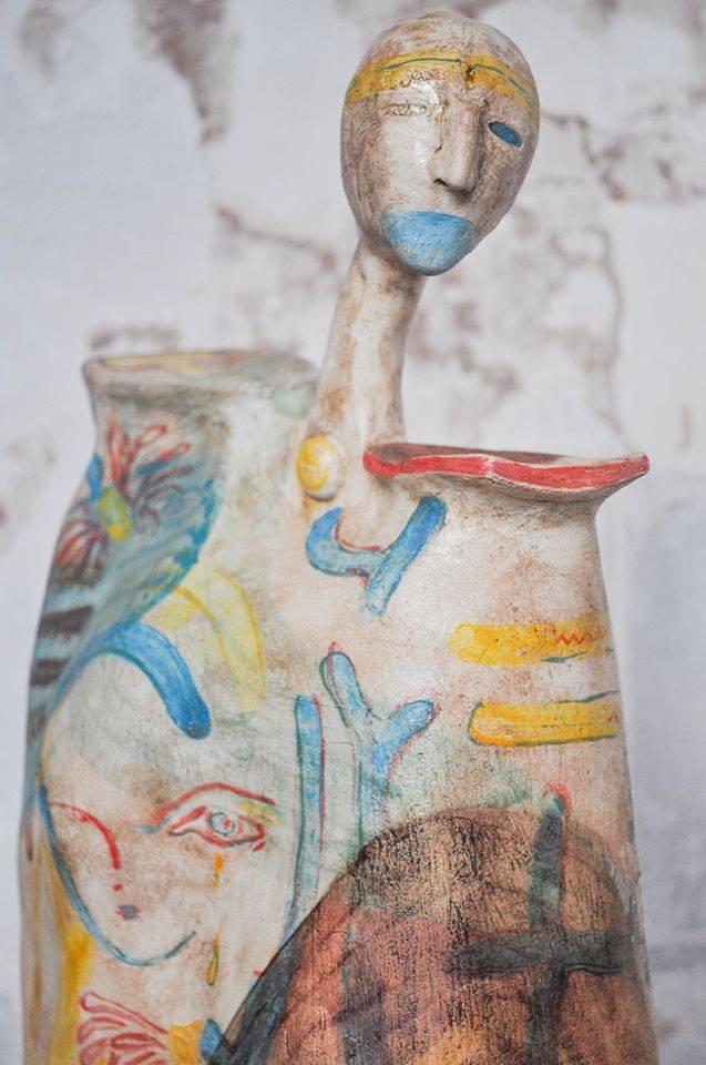 керамика, ангел, скульптура, artcultivator