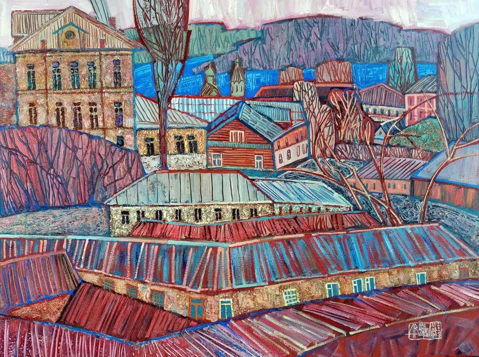 осень, городок, россия, арткультиватор, artcultivator