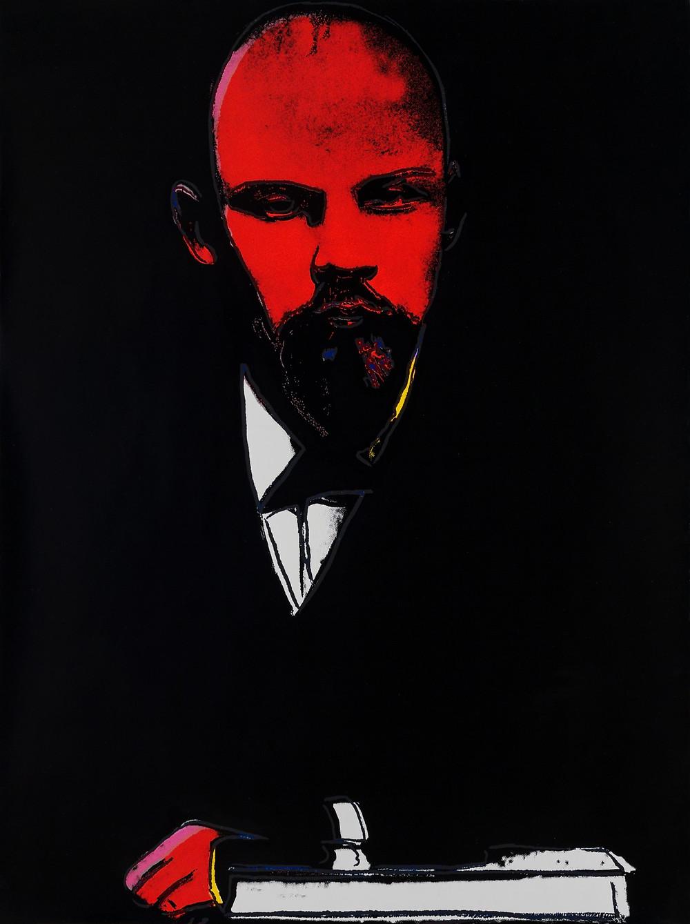 Ленин, Энди Уорхолл, Черный Ленин, выставка АРТ4, арткультиватор, artcultivator