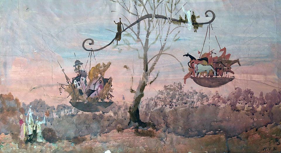 Евгений Измайлов, рисунок, выставка, Artcultivator