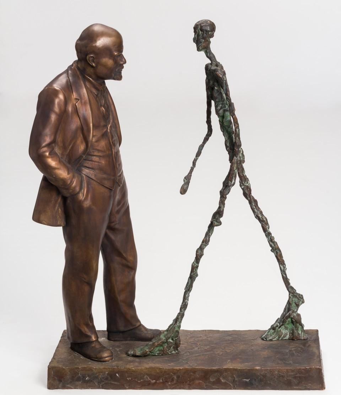 скульптура, Ленин, джакометти, выставка, музей АРТ4, арткультиватор, artcultivator, анонс, выставки в Москве, бронза