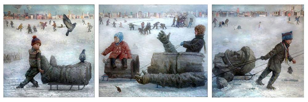 artcultivator Андрей Шатилов Поехали премьера живопись ЦДХ street stories