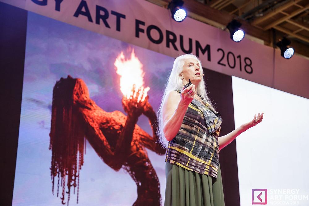 Synergy Art Forum artcultivator Царевская Оксана Кримсон Роуз