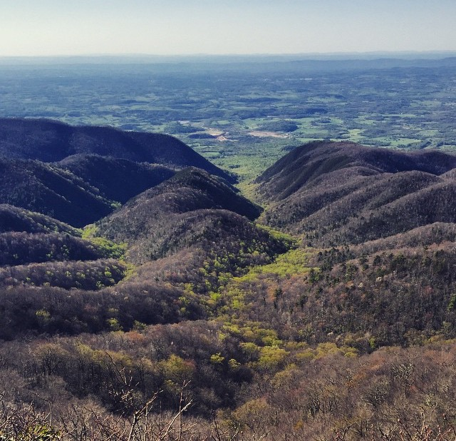 The edge of the Appalachians