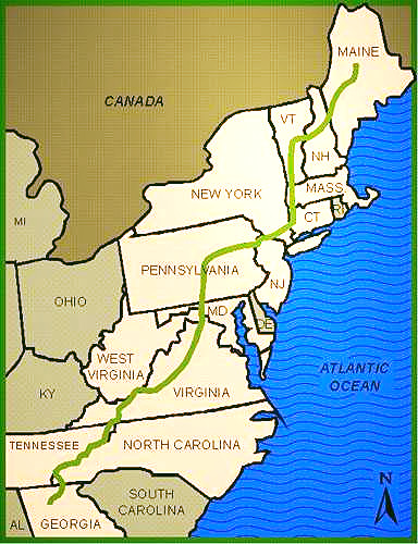 About the APPALACHIAN TRAIL