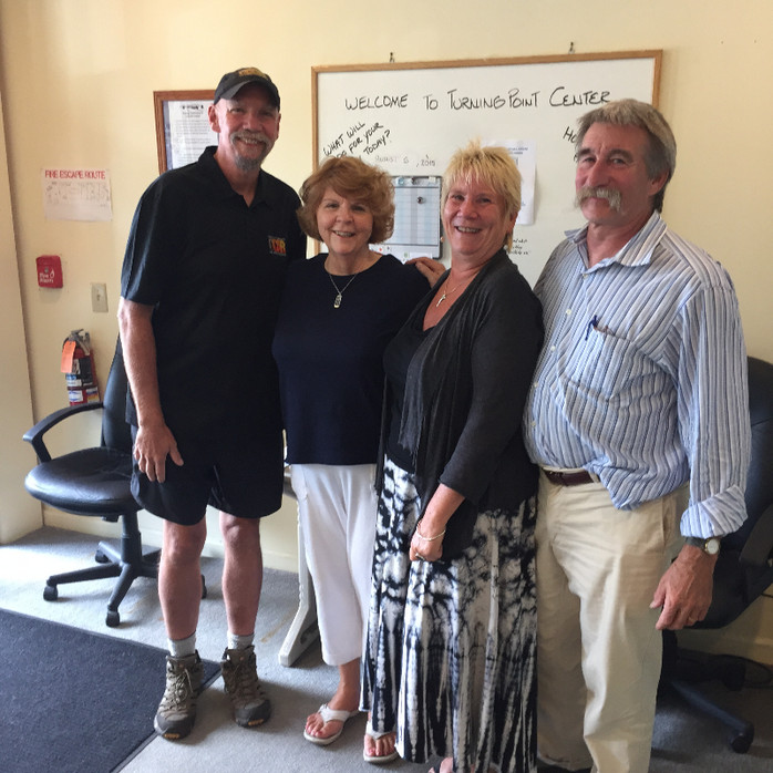 Visiting with Turning Point Center of Bennington, VT