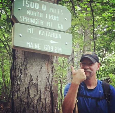 Congratulations Phil! 1,500.0 Miles!