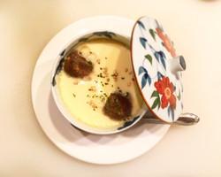 鴨とクリームチーズの碗蒸し