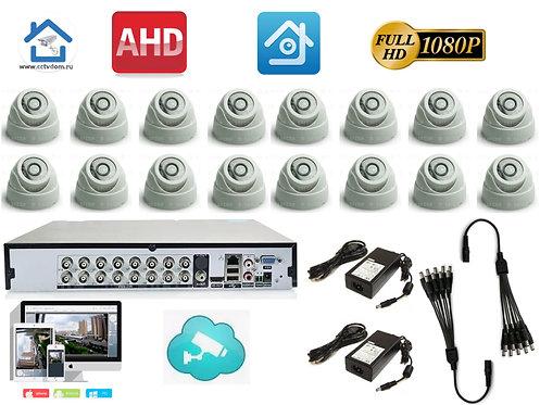 KIT16AHD300W1080P. Комплект видеонаблюдения на 16 1080P камер